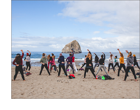 QiGong Class in Pacific City