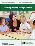 photo of cover to Teaching Math to Young Children guide