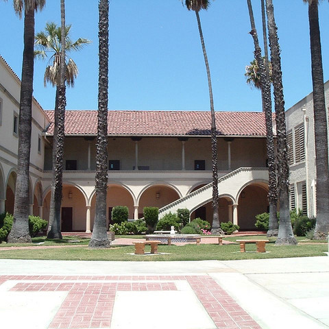 Photo: Front of high school