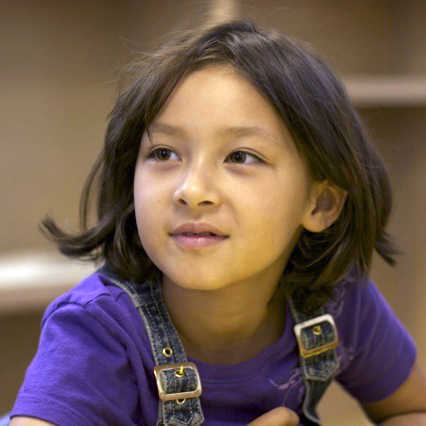 Photo of young English learner