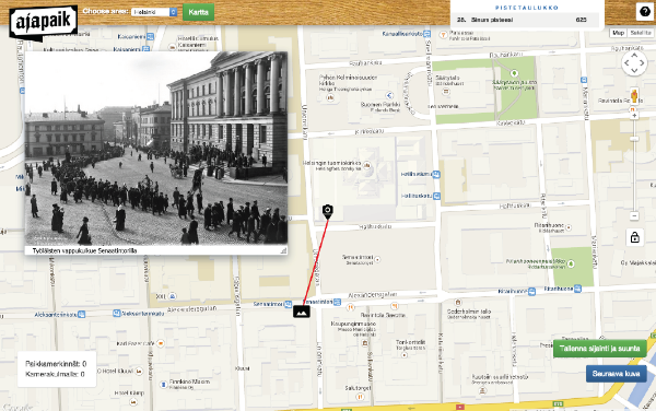 Vahur Puik: Ajapaik.ee Timepatch.net Crowdsourcing geotags and rephotos for historic photographs