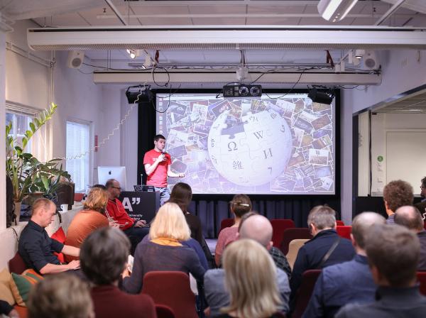 André Costa: GLAM + Wikimedia Sverige = True