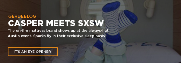 Casper Meets SXSW - See how the startup offered an exclusive sleep oasis for festival attendees in depserate need of shut eye.