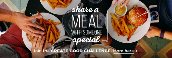 Join the CREATE GOOD CHALLENGE