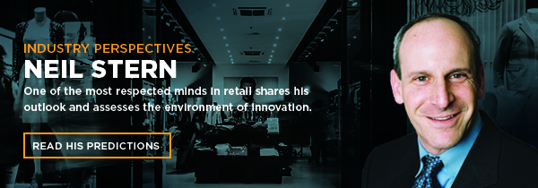 Neil Stern shares his retail predictions and assesses the environment of innovation.