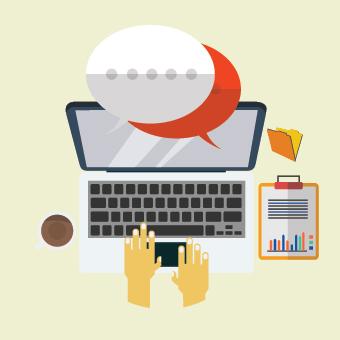ueva forma de contacto: chat en tiempo real