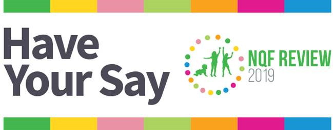 Have your say: NQF Review