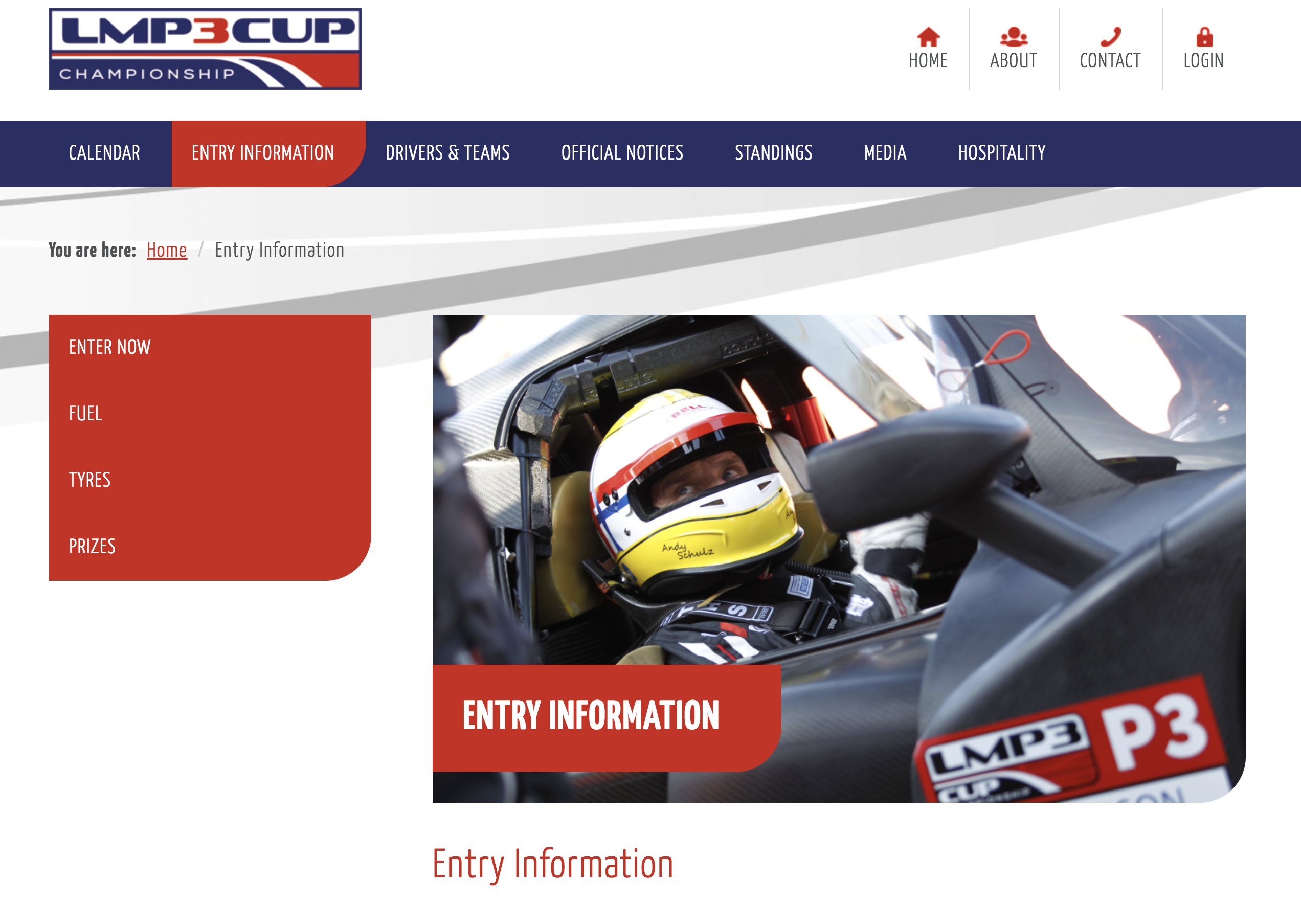 LMP3 Entry Page