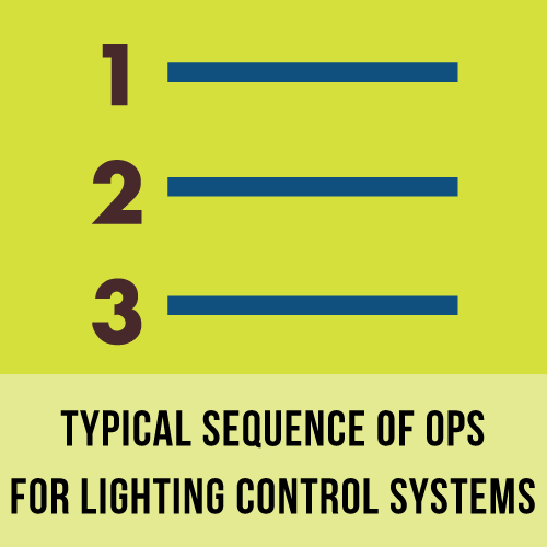 SOO for typical lighting controls systems