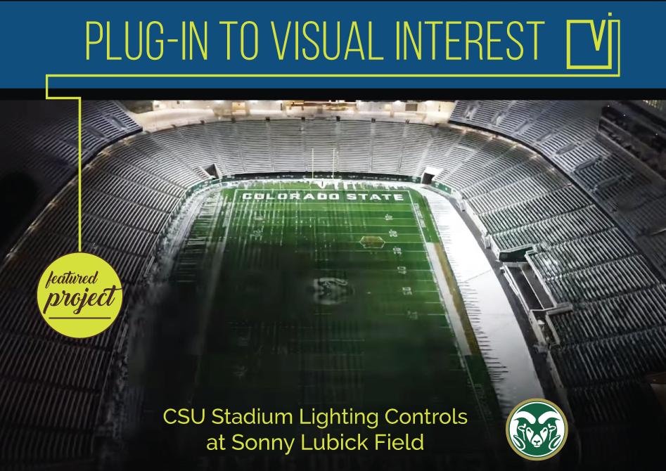 VI featured project: CSU Stadium Lighting Controls