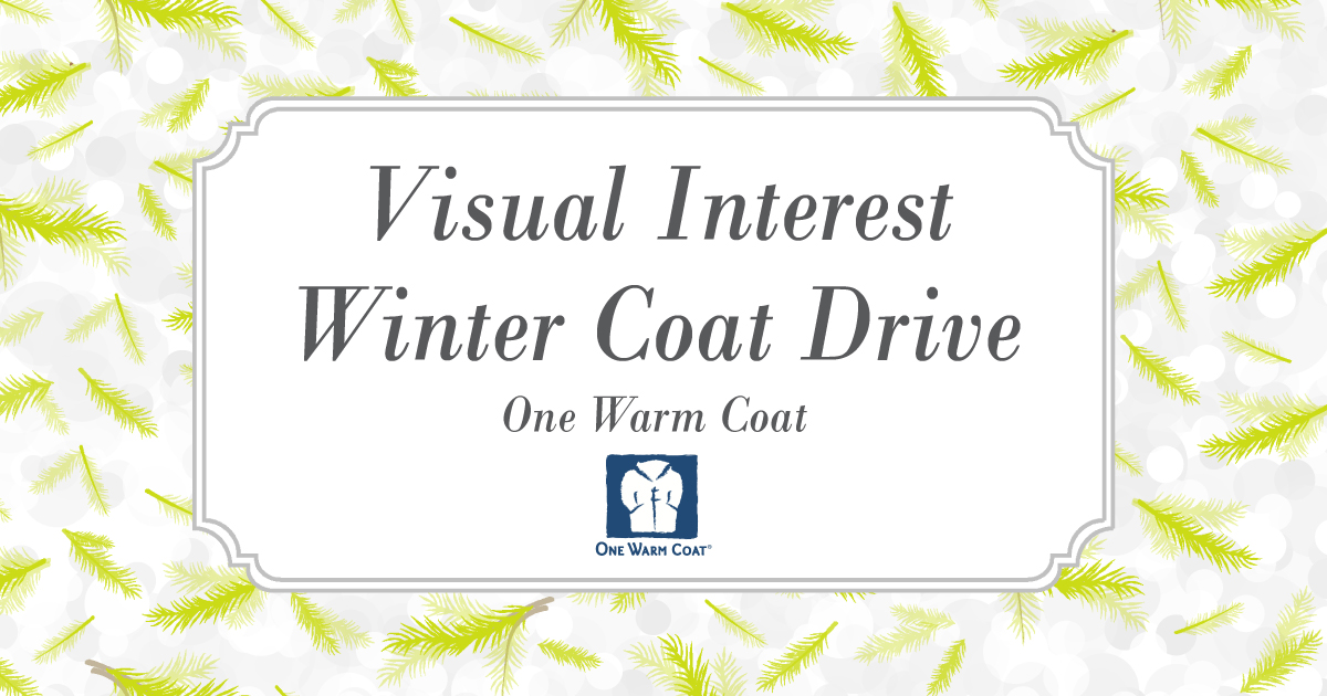 Visual Interest Winter Coat Drive
