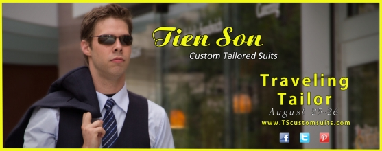 Tien Son Custom Tailored Suits: Traveling Tailor Evansville. Click to learn more.