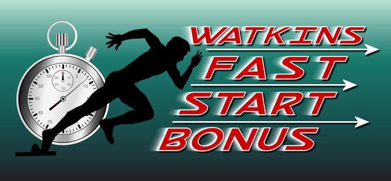 Watkins Fast Start Bonus logo