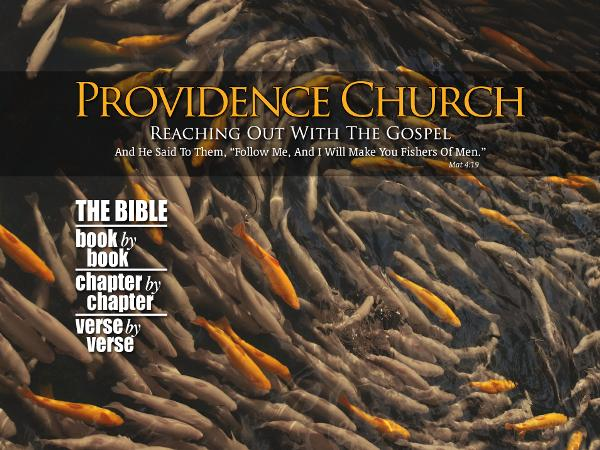 Providence Church Outreach Signup Form