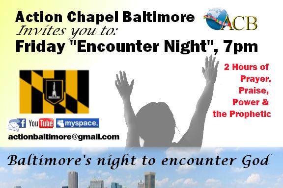 Encounter Night Flyer