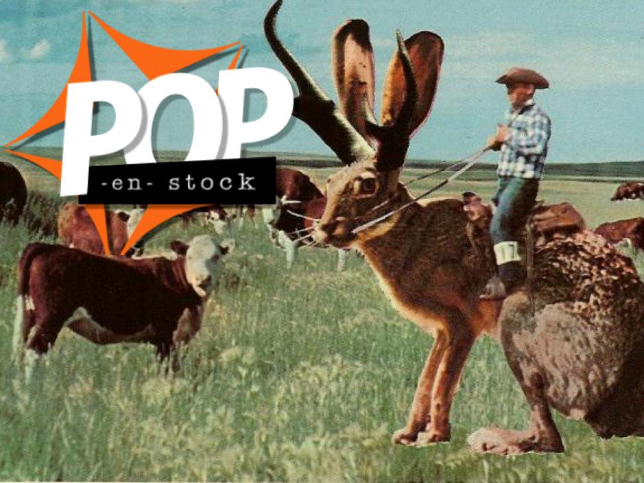 POP-EN-STOCK - La carte postale comme tall tale