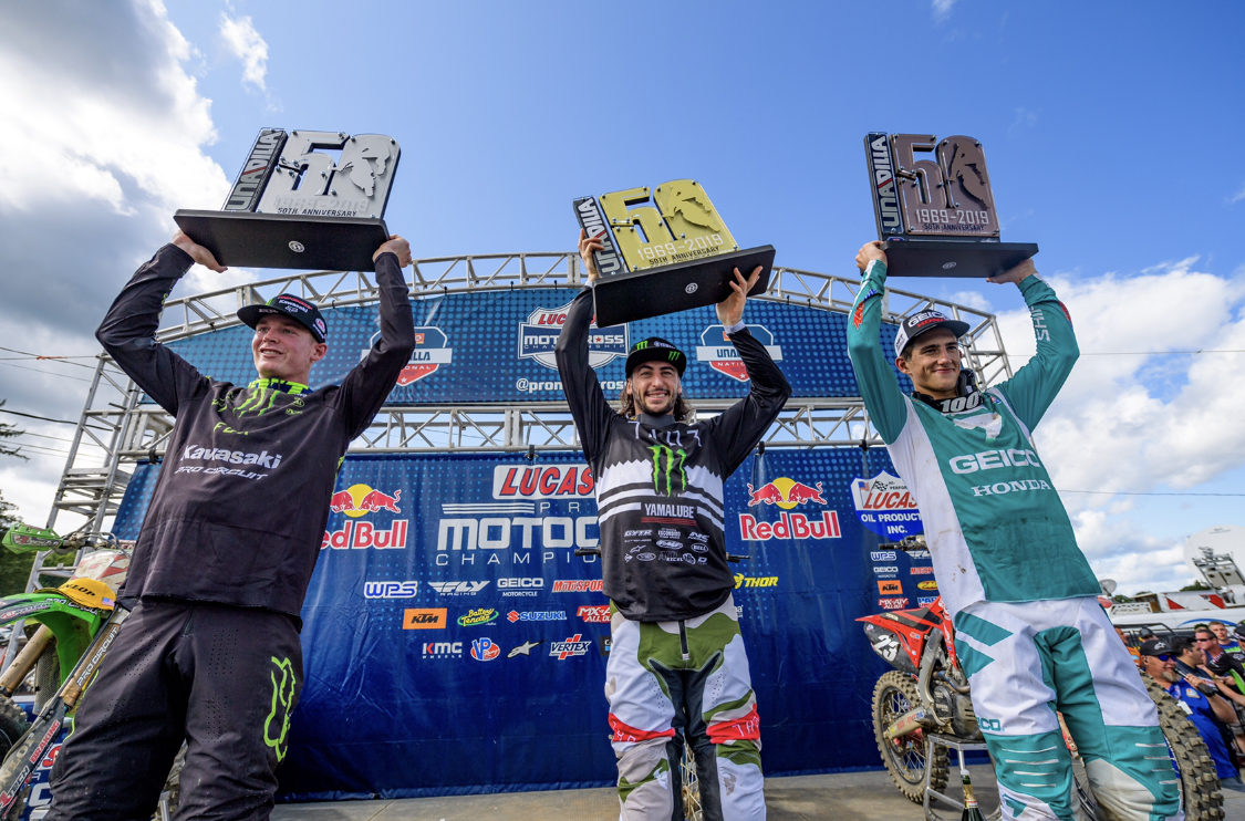 Monster Energy®/Pro Circuit/Kawasaki Celebrates 50th Anniversary of Unadilla