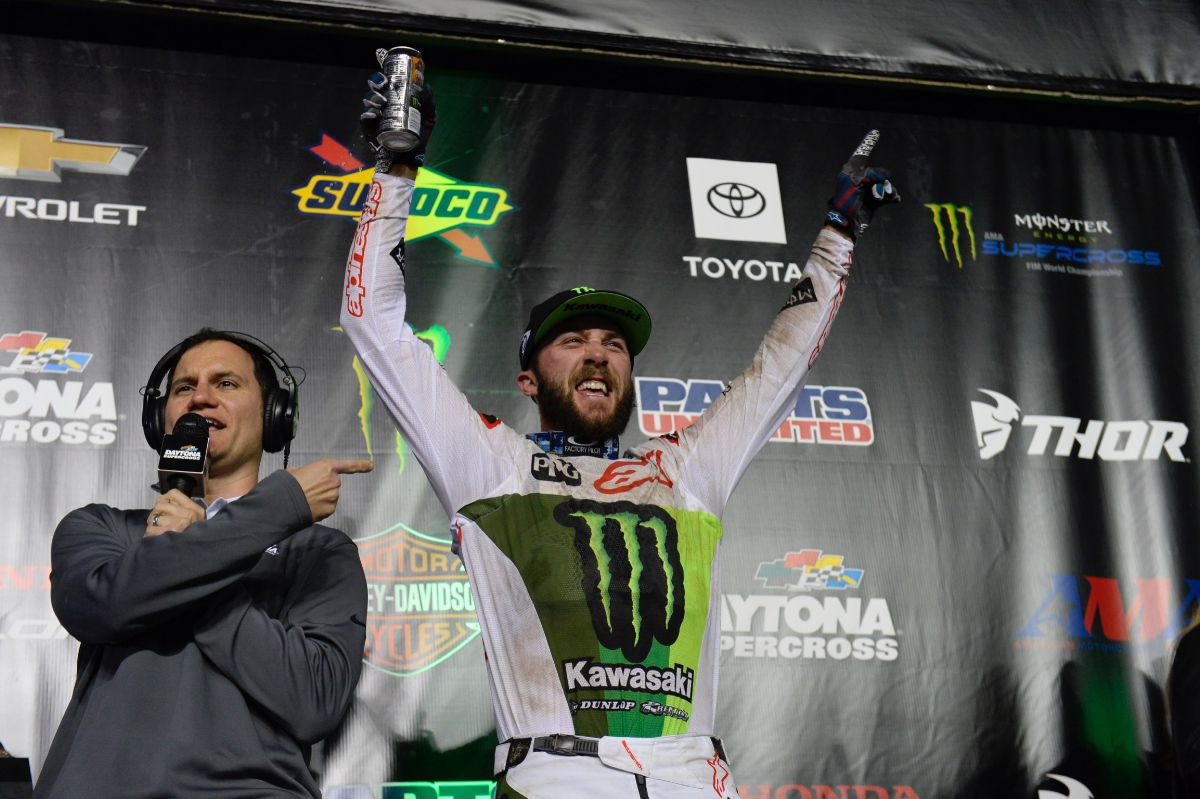 Daytona Dominance for Tomac and Kawasaki