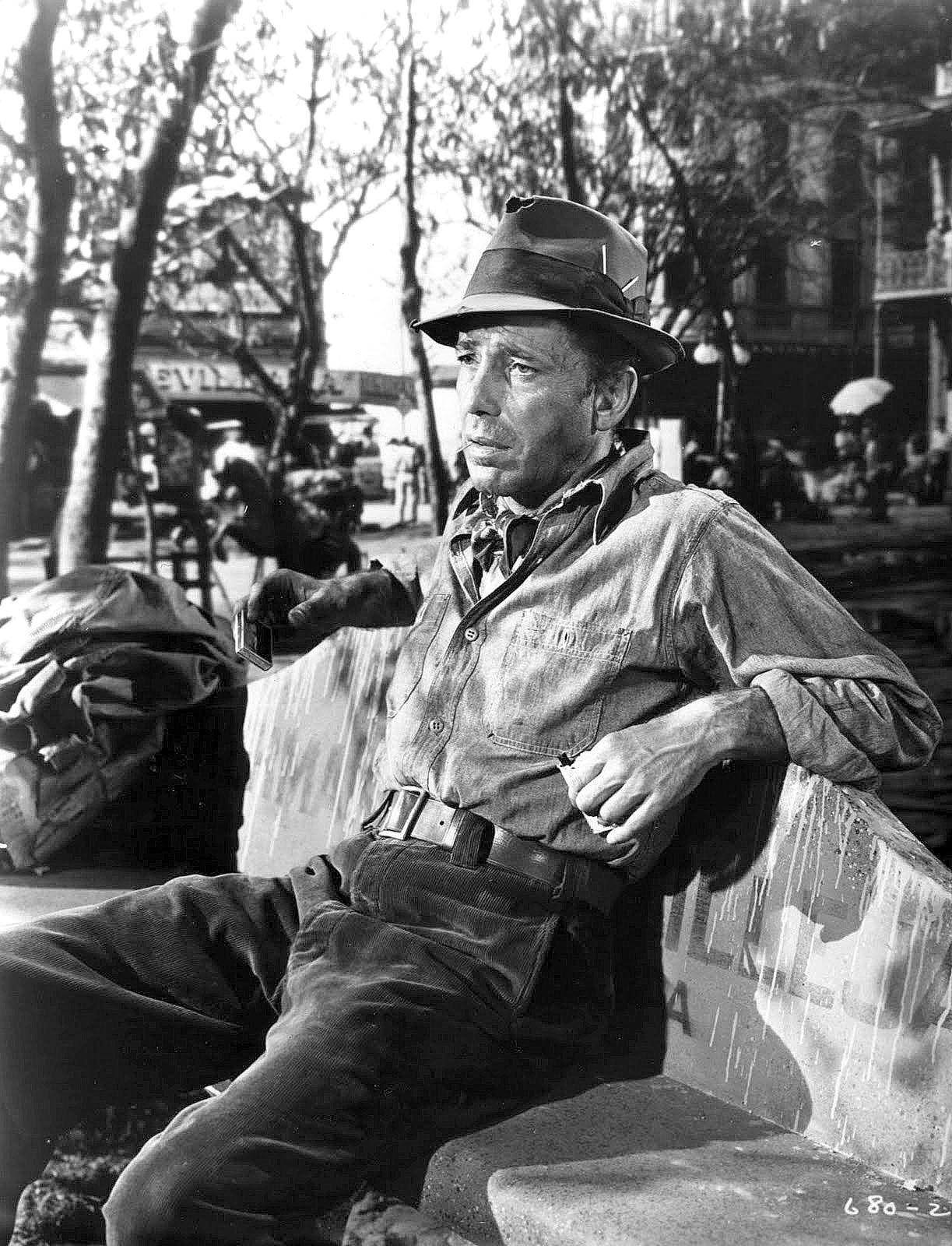 Humphrey Bogart em Tesouro de Sierra Madre