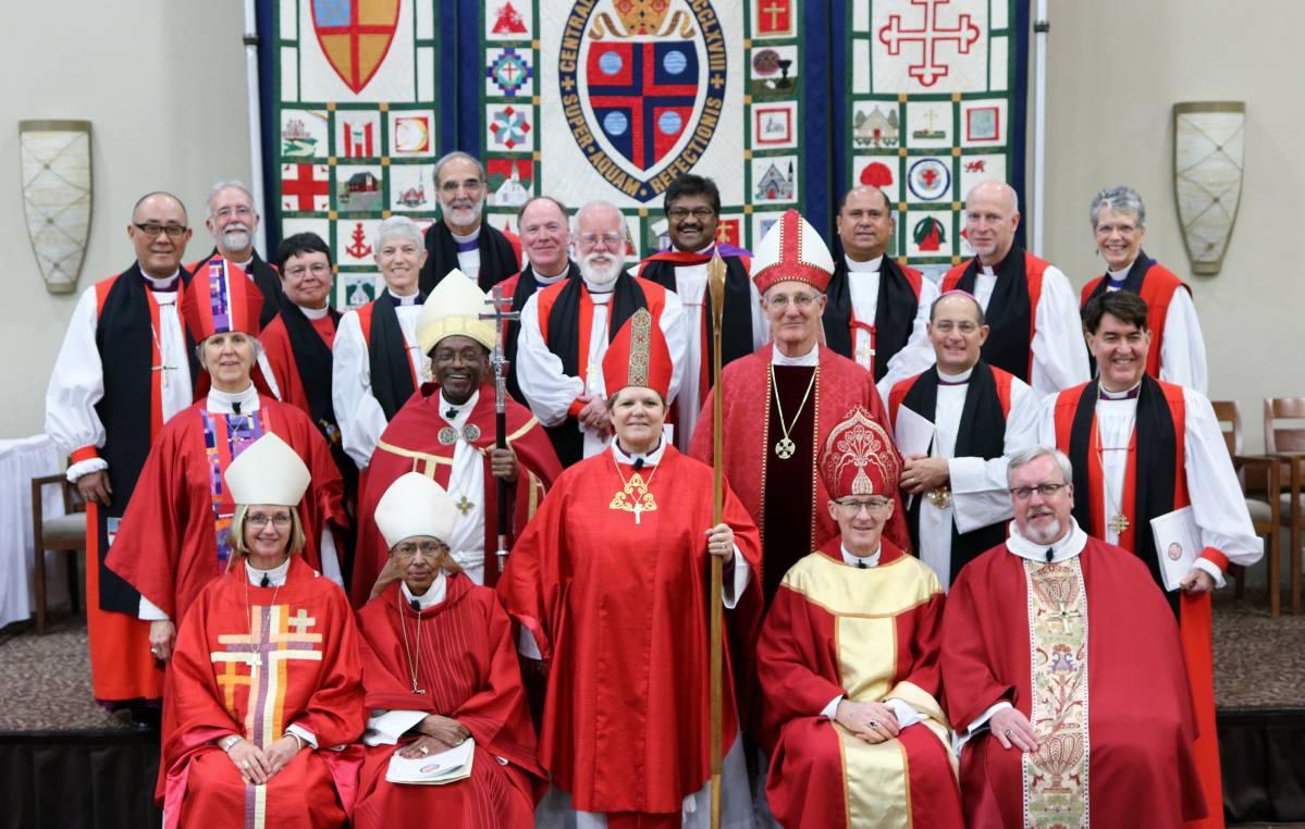 Twenty Bishops at Consecration