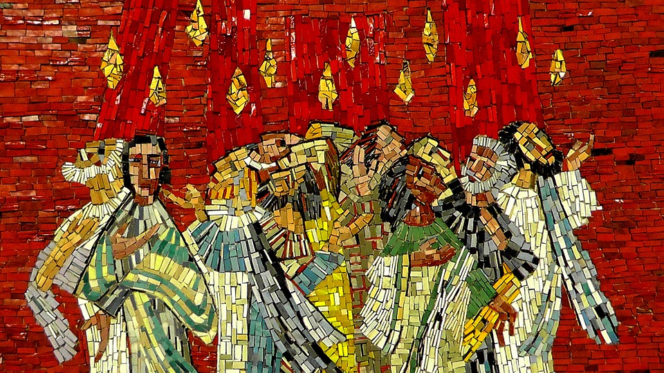 Pentacost Mosaic