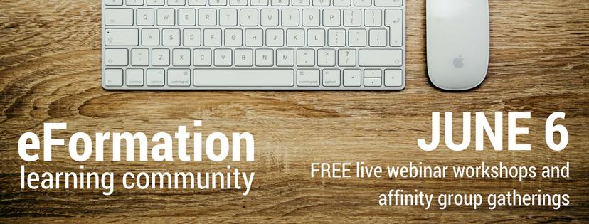 image description: eFormation conference promotional graphic