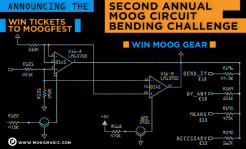 Enter the Second Annual Moog Circuit Bending Challenge!