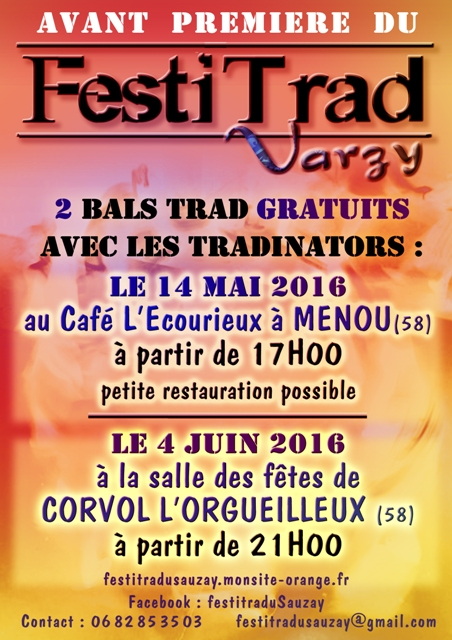 Bal avant-première Festitrad