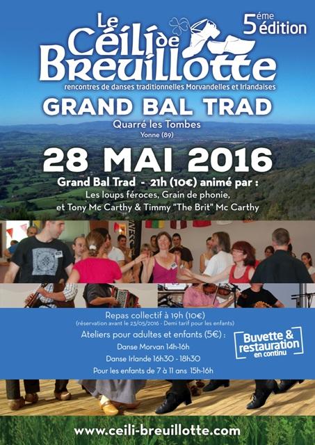 Ceili Breuillotte - Grand bal trad