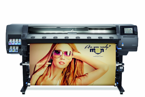 Uniquely DC's New Large Format Latex Printer