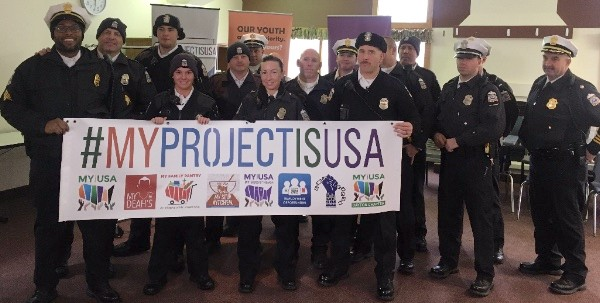 Columbus Police Department Joins MY Project USA