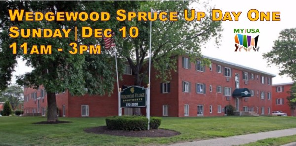 Wedgewood Spruce Up Day One