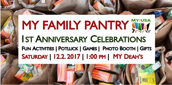 MY Family Pantry First Anniversary