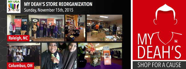 MY Deah's Store Reorganization