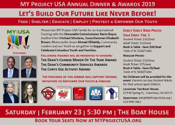 MY Project USA Annual Dinner 2019