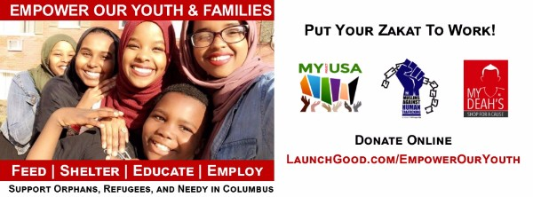 Pay Zakat to support MY Project USA