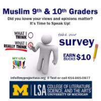 Muslim high school student survey