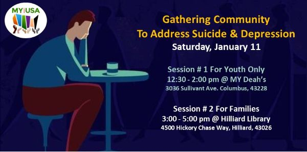 Community Forums To Address Suicide