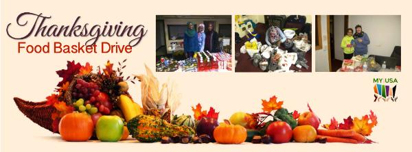 Thanksgiving Food Basket Drive