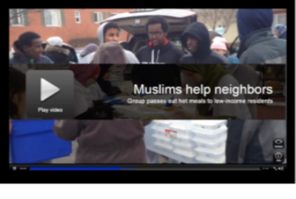 Muslims Help Neighbors