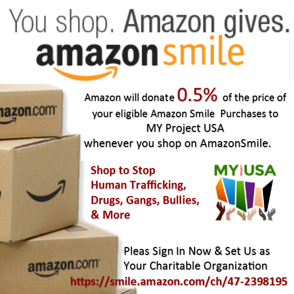 Amazon Smile - MY Project USA
