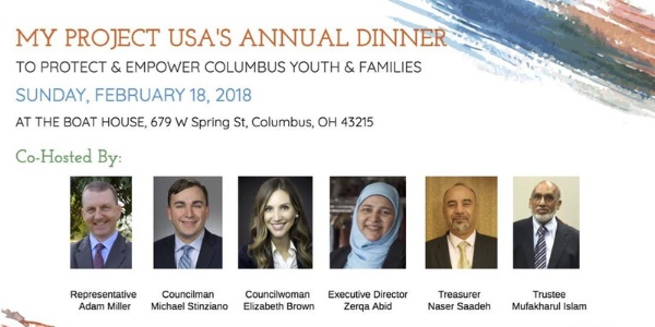 MY Project USA's Annual Dinner 2018