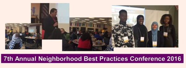 7th Annual Neighborhood Best Practices Conference 2016