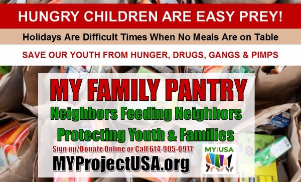 Support MY Family Pantry Now