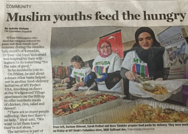 Muslim Youths Feed the Hungry