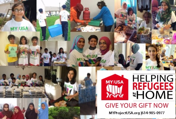 MY Project USA - Helping Refugees at  Home