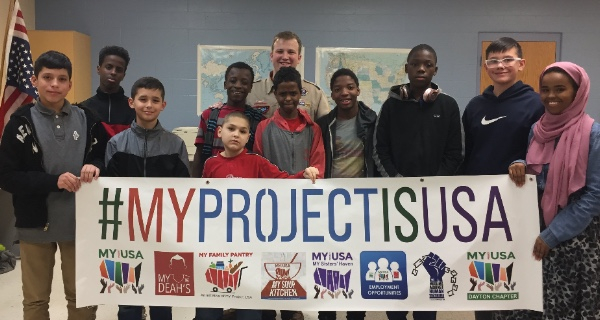 MY Project USA's Boy Scouts
