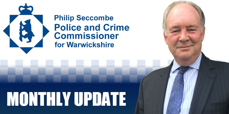 Monthly Update from Philip Seccombe