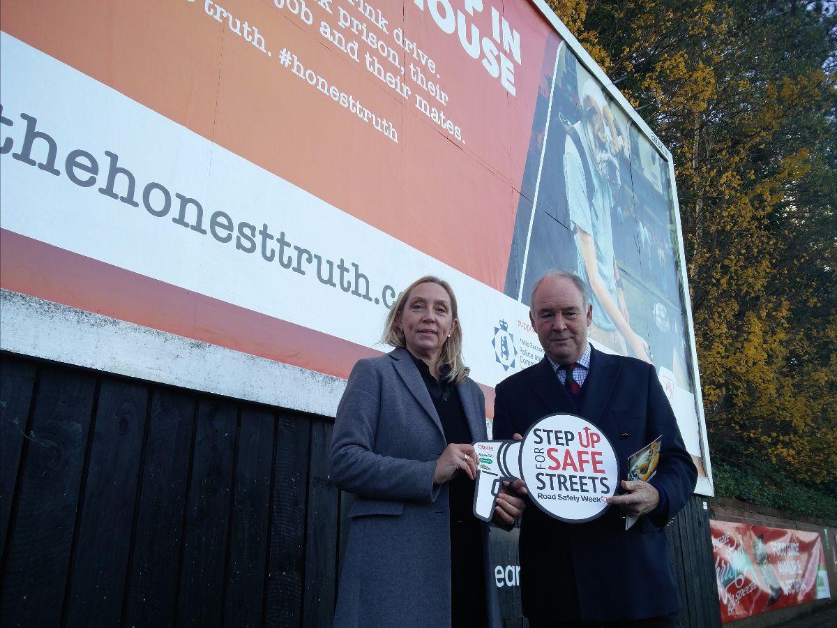 Honest Truth billboard launch