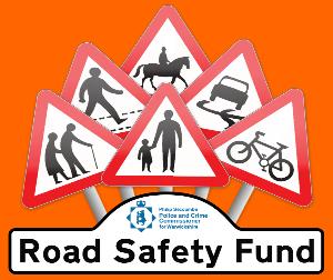 Warwickshire Road Safety Fund logo